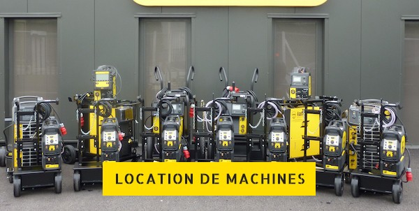 Location de machines